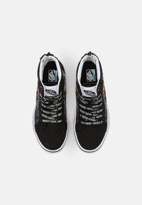 Vans - UY COMFYCUSH SK8-HI ZIP - Sneakers hoog - black - 3