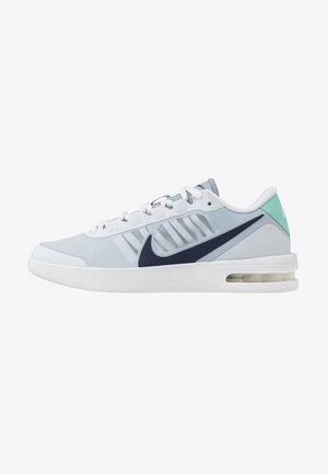 COURT AIR MAX VAPOR WING - Zapatillas de tenis para todas las superficies - football grey/midnight navy