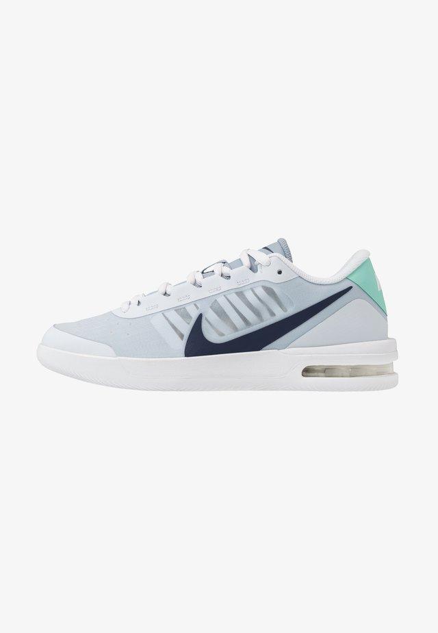 COURT AIR MAX VAPOR WING - Chaussures de tennis toutes surfaces - football grey/midnight navy