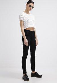 Lee - SKYLER - Jeans Skinny Fit - black rinse - 1