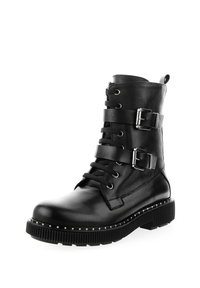 PRIMA MODA - TRECENTA - Cowboy/biker ankle boot - black - 1