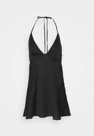 HANG ON HALTER  - Nightie - black