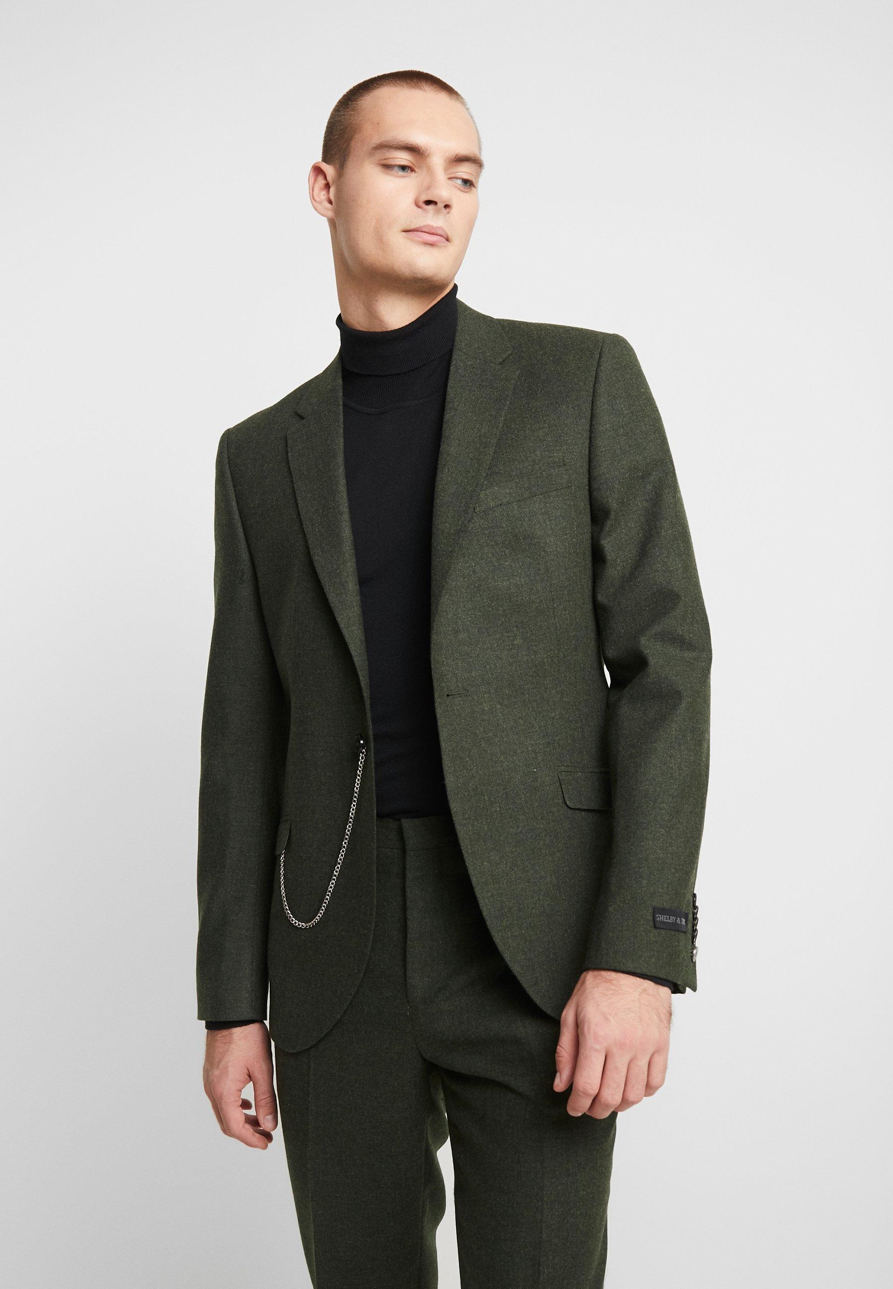 Shelby & Sons GRANTHAM SUIT - Costume - khaki