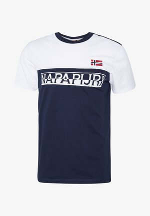 SARAS - Print T-shirt - medieval blue