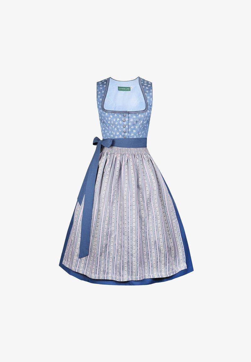 Country Line - Dirndl - blau