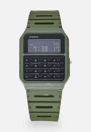 Digitální hodinky - green