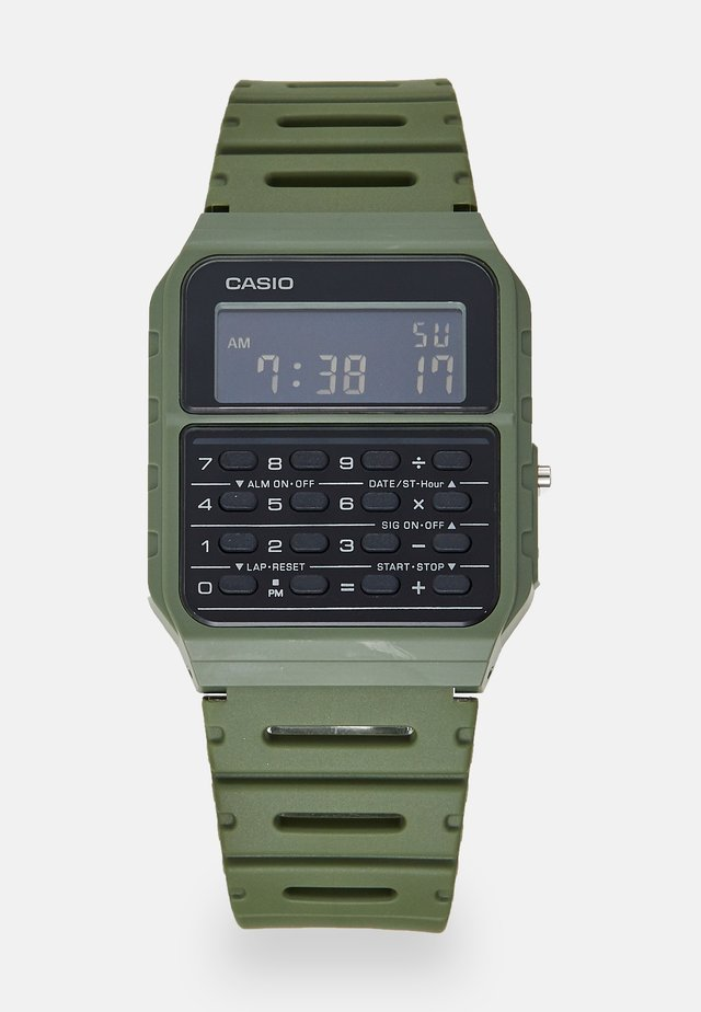 Orologio digitale - green