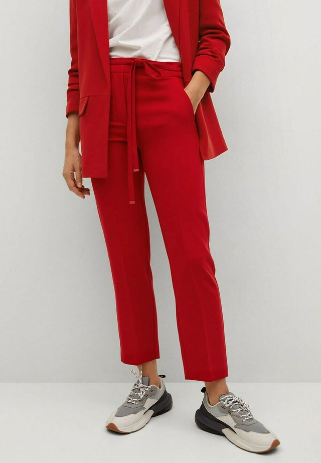 SEMIFLU - Trousers - rouge intense