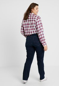 Levi's® Plus - SHAPING - Vaqueros rectos - dark horse - 2