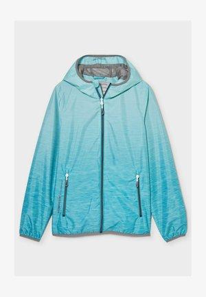 Waterproof jacket - turquoise