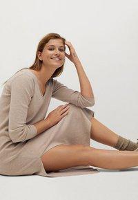 Mango - ROLLY - Jumper dress - light/pastel grey - 11