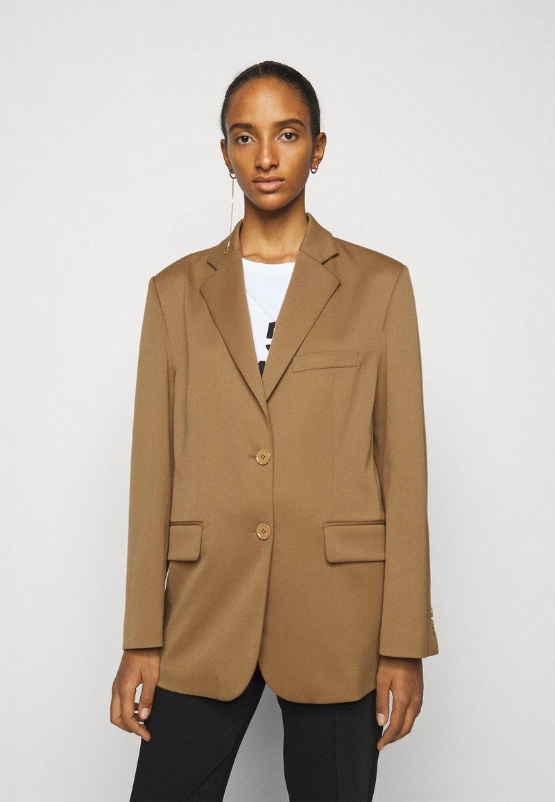 MM6 Maison Margiela - Short coat - camel