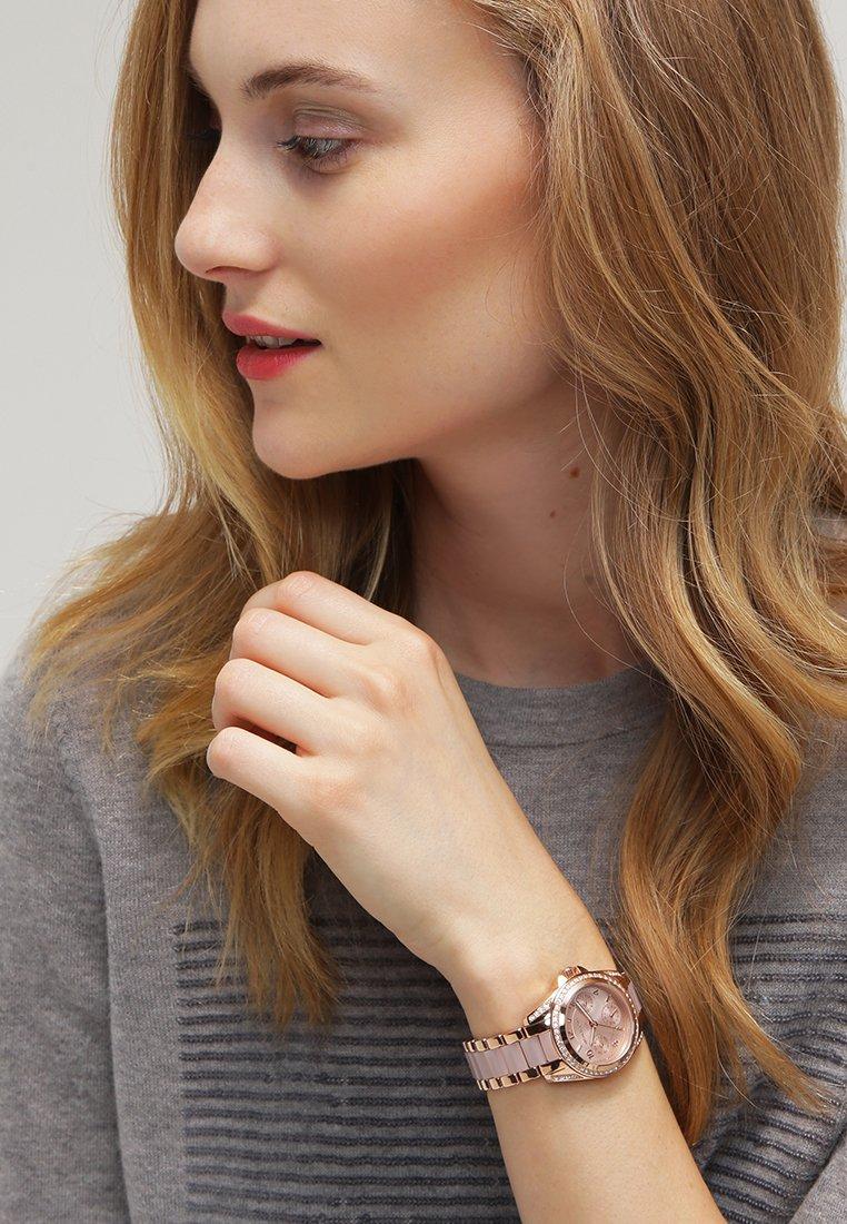 Michael Kors - MINI BLAIR - Horloge - rosegoldfarben/puder