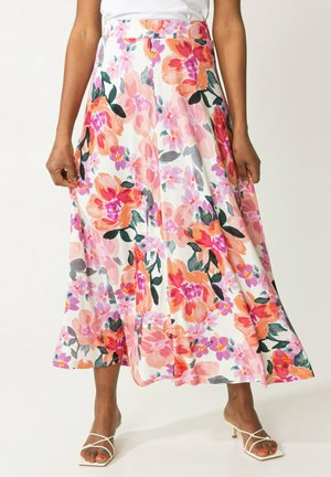 OLIVARA - Maxi skirt - pink