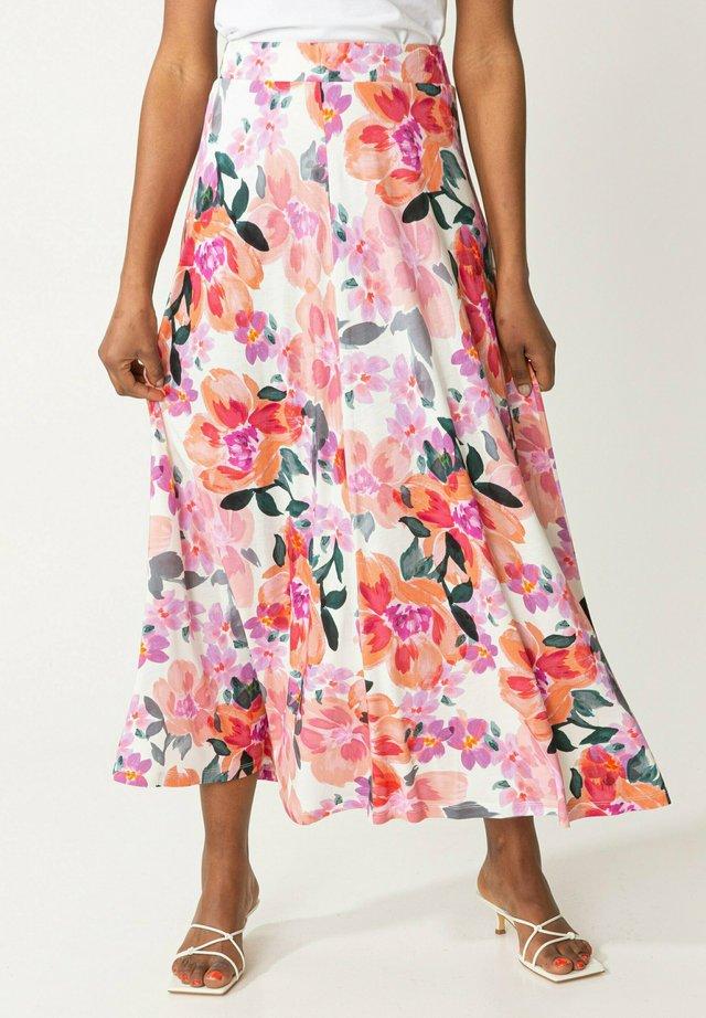 OLIVARA - Maxi sukně - pink