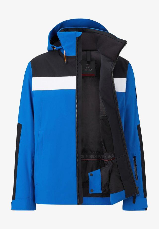 TALIO - Ski jacket - blau/schwarz/weiß