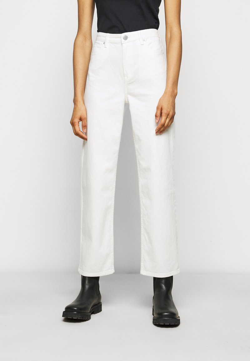 2nd Day - RAVEN THINKTWICE - Straight leg jeans - bright white