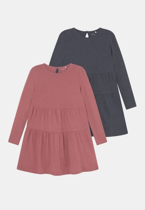 NKFVIVALDI DRESS 2 PACK - Jersey dress - deco rose