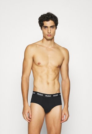 HIPBRIEF 3 PACK - Briefs - black