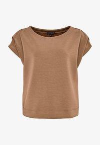 Opus - Basic T-shirt - brown - 3