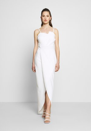 PANEL DETAIL LONG DRESS - Galajurk - white