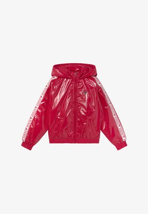 JUNIOR HOODED ZIPPER - Kurtka zimowa - disco pink
