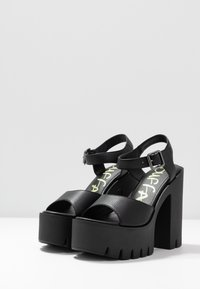 Buffalo - JALILA - High heeled sandals - black - 4