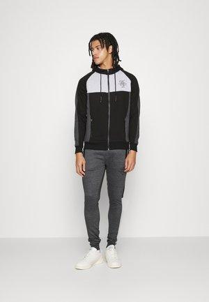 Sweatshirt - jet black/charcoal marl