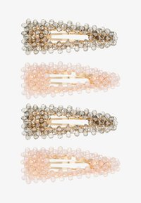 Name it - NKFACC LEARL HAIRCLIPS 4 PACK - Accessoires cheveux - barely pink/asphalt - 1