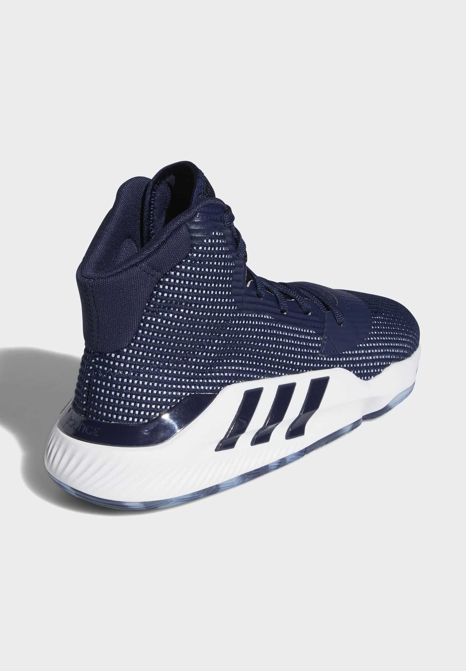 adidas Performance PRO BOUNCE 2019 SHOES - Basketballschuh - blue/blau - Herrenschuhe JWpZl