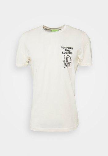 T-DORYMO-A1 MAGLIETTA UNISEX - Print T-shirt - off-white