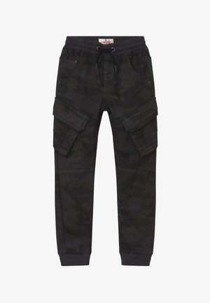 CARLOS - Cargo trousers - dark grey