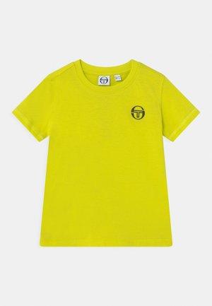 NOLIN UNISEX - T-shirt print - acid lime/anthracite