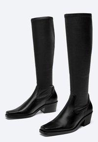 Uterqüe - Boots - black - 1
