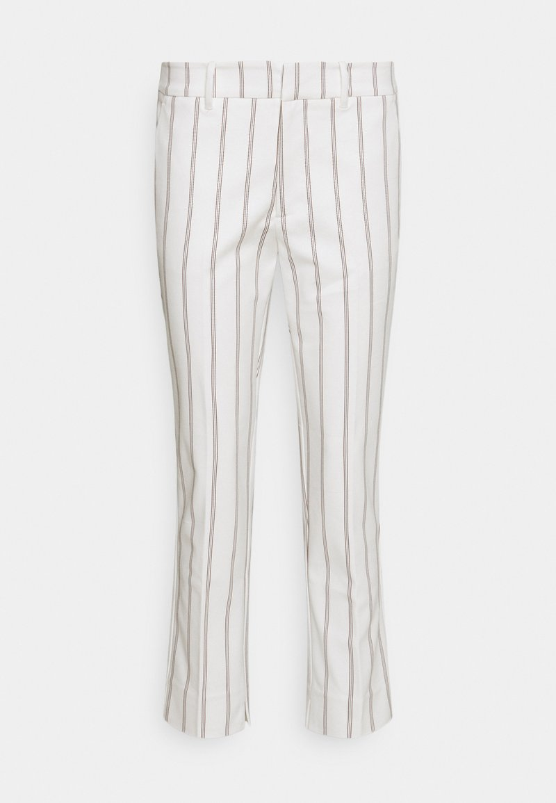 Esqualo - TROUSERS CHINO STRIPED - Broek - offwhite