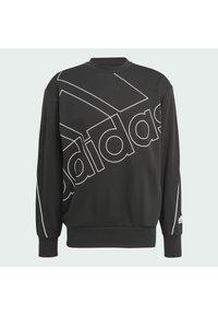 adidas Performance - GIANT LOGO SWEATSHIRT (GENDER NEUTRAL) - Felpa - black - 7