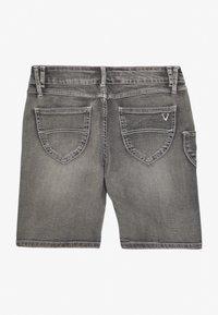 Marjo - FRANZISKA BERMUDA - Denim shorts - grey - 1