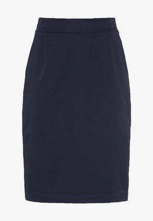 LETIZIA - Pencil skirt - indigo