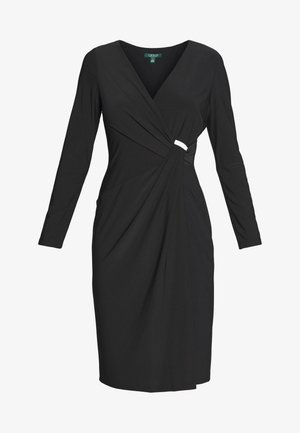CLASSIC DRESS TRIM - Vestido ligero - black