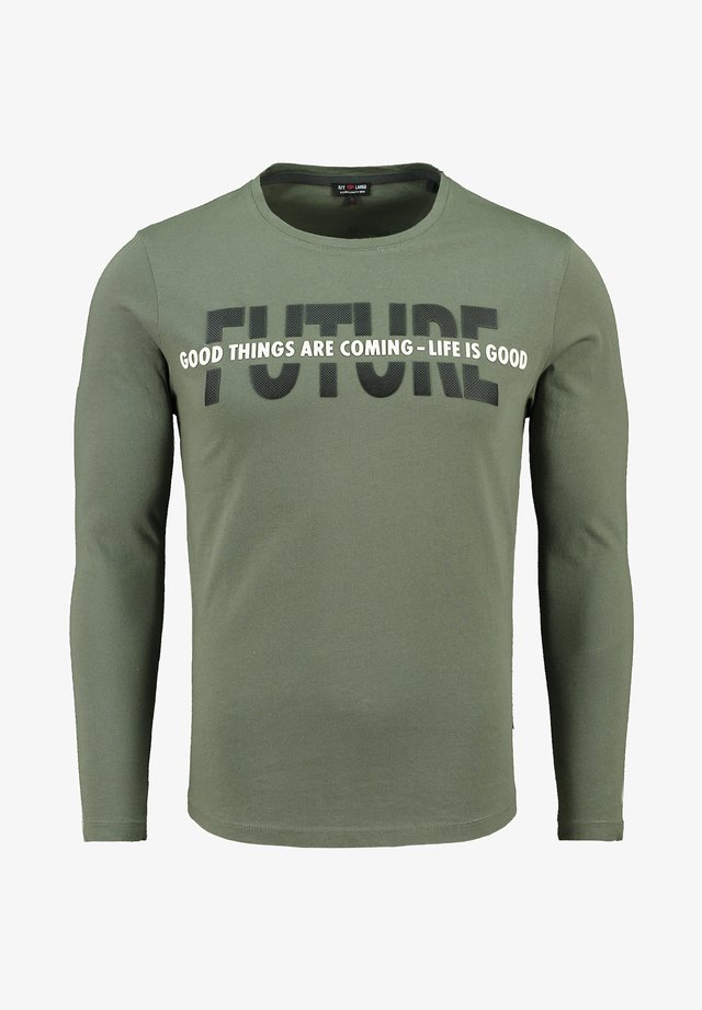 """MLS FUTURE"" - Long sleeved top - oliv"