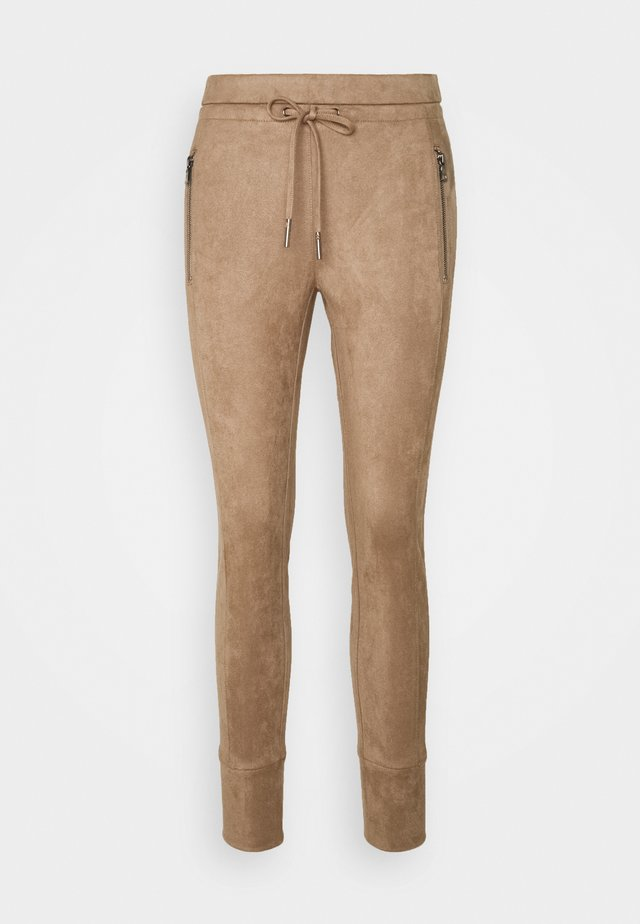 LEVINA SOFT - Trousers - peanut