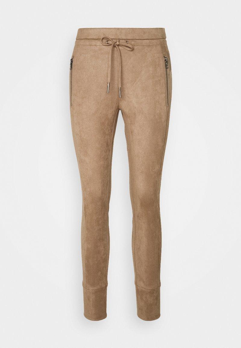 Opus - LEVINA SOFT - Trousers - peanut