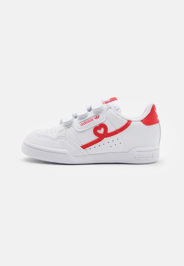 CONTINENTAL 80 UNISEX - Sneakers laag - footwear white/vivd red