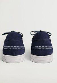 Mango - Boat shoes - blau - 4