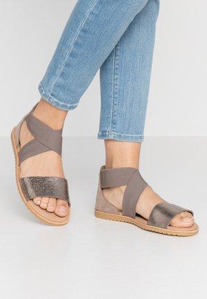 ELLA - Sandals - ash brown