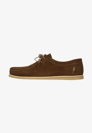 ELLIOT - Sznurowane obuwie sportowe - brown