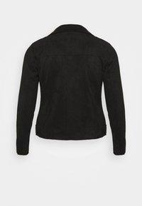 Zizzi - ESUS JACKET  - Faux leather jacket - black - 6