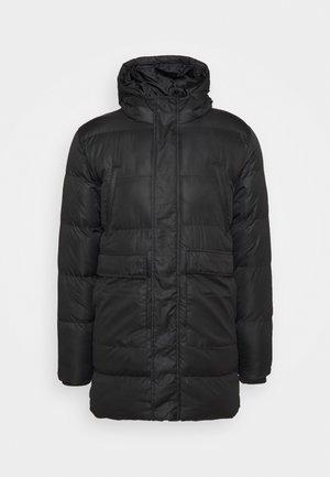 LONGLINE JACKET - Winter coat - black