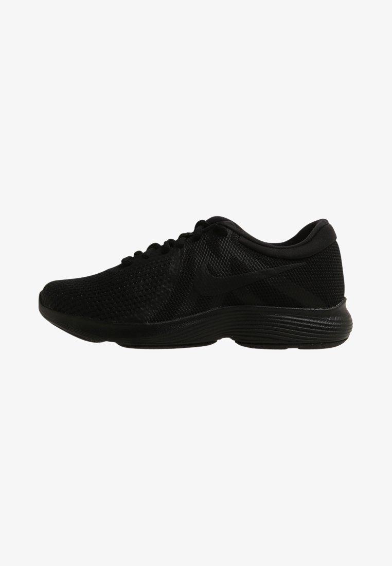 Nike Performance - WMNS REVOLUTION 4 EU - Neutral running shoes - black