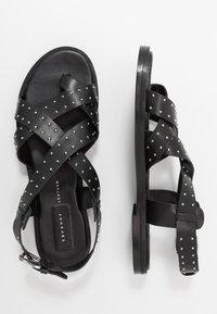 Topshop - Sandalias de dedo - black - 3